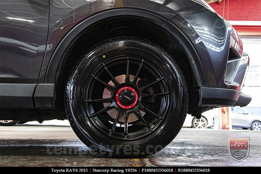 18x8.0 Starcorp Racing Y0256 on TOYOTA RAV4