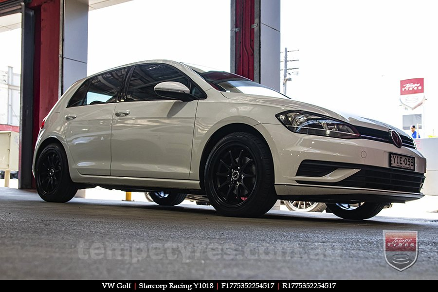 17x7.5 Starcorp Racing Y1018 on VW GOLF