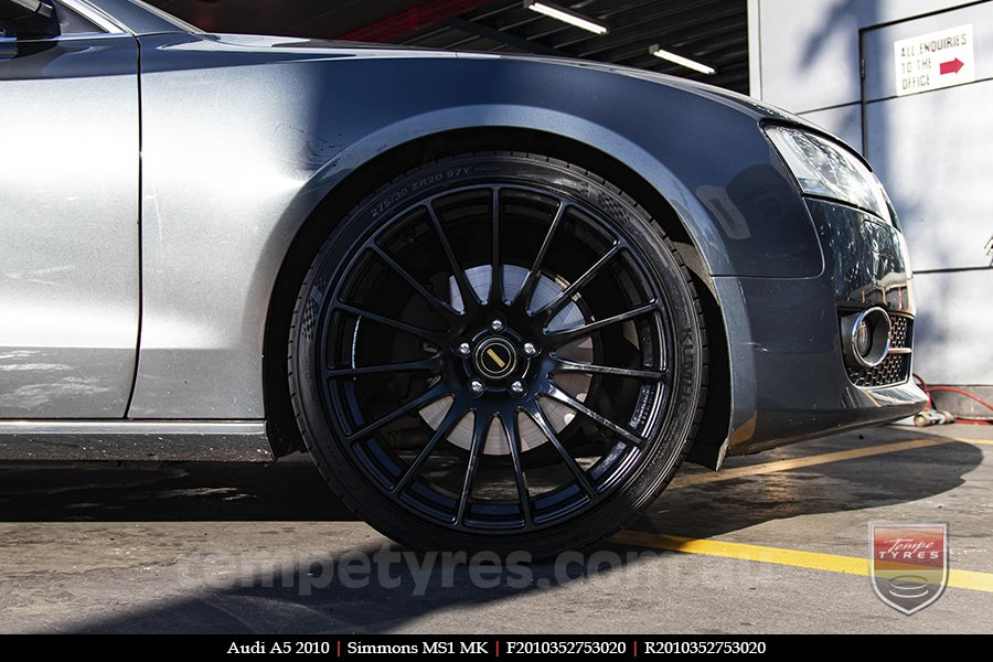 20x10 20x11 Simmons MS1 MK on AUDI A5