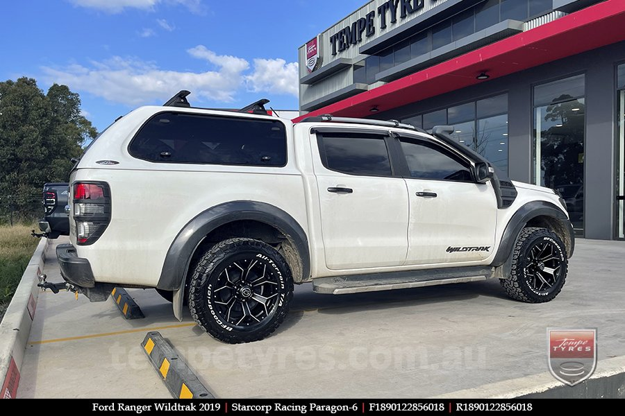 18x9.0 Starcorp Racing Paragon-6 on FORD RANGER WILDTRAK