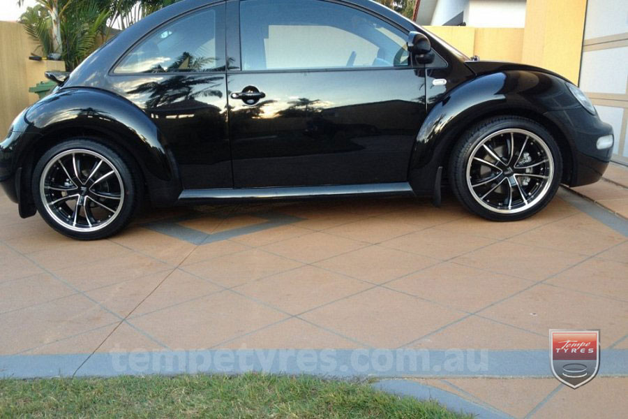 18x7.5 Lenso Eurostyle 7 ES7 on VW BEETLE
