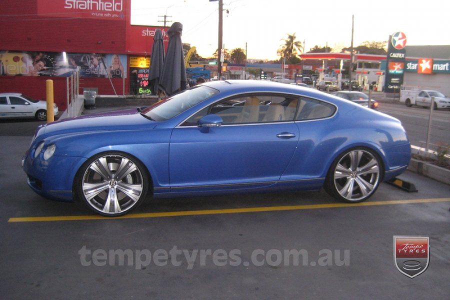 on BENTLEY CONTINENTAL GT