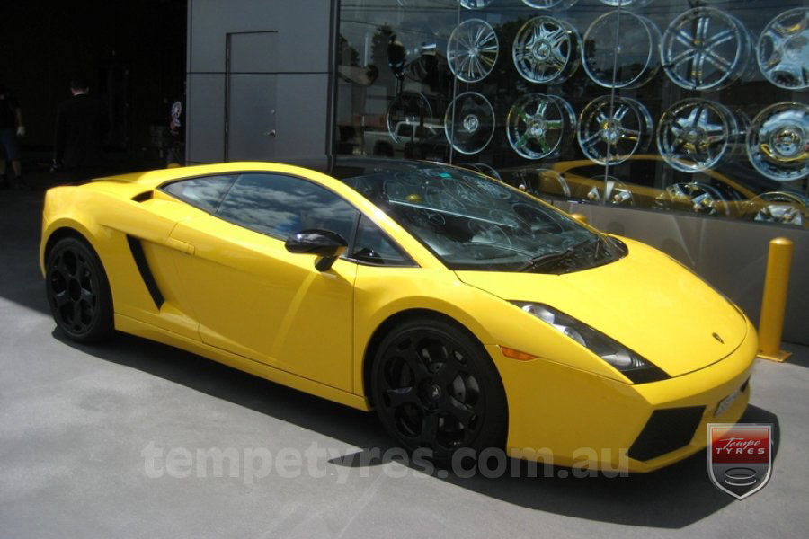 on LAMBORGHINI GALLARDO