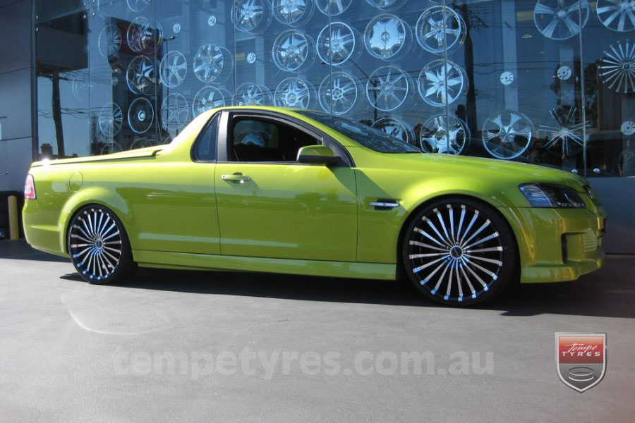 10x7.0 Starcorp E Series on HOLDEN COMMODORE VE UTE