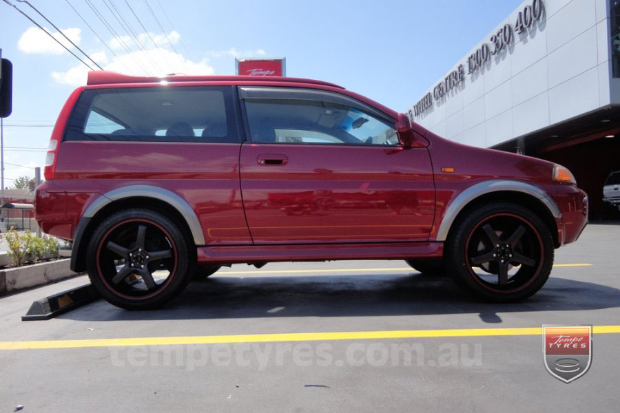 19x8.5 19x9.5 Starcorp Hiro - WRG on HONDA CRV