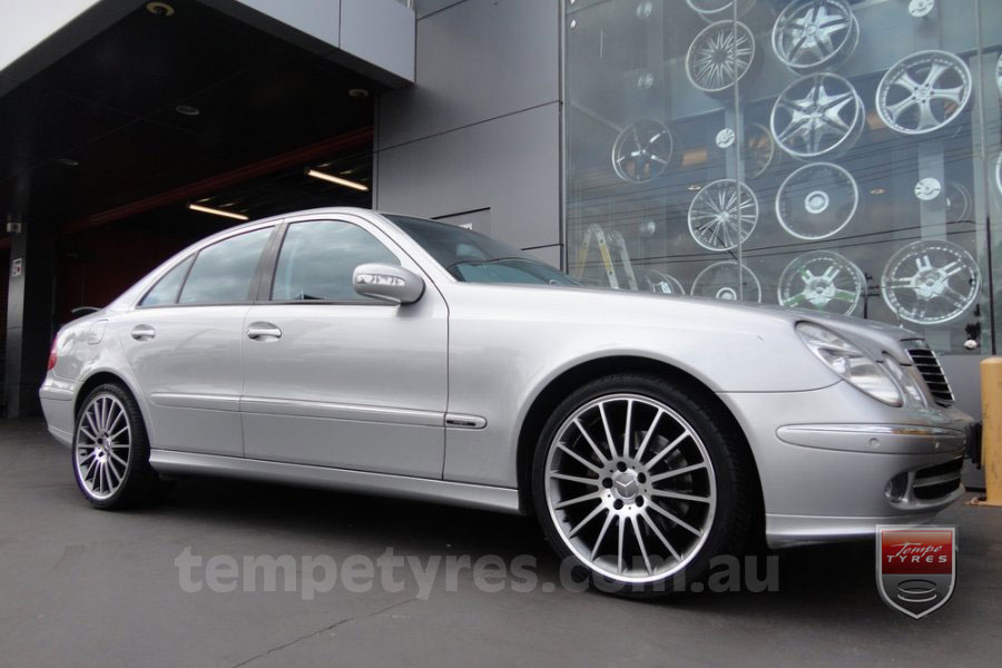 19x8.5 19x9.5 C63 Limited GM on MERCEDES E CLASS