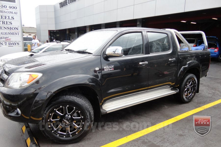 on TOYOTA HILUX SR5