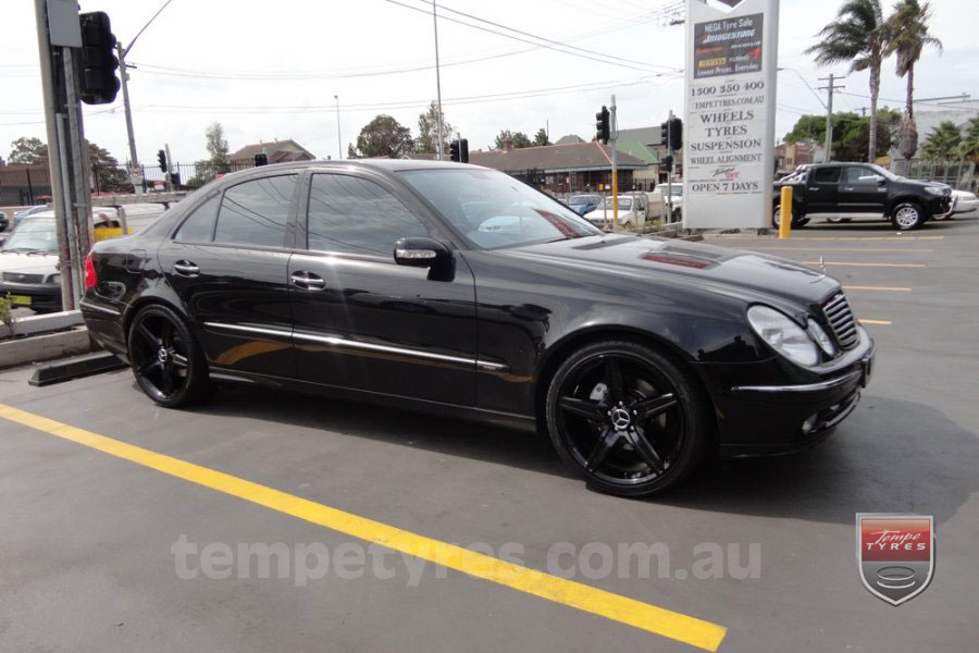 19x8.5 19x9.5 E63 on MERCEDES E CLASS