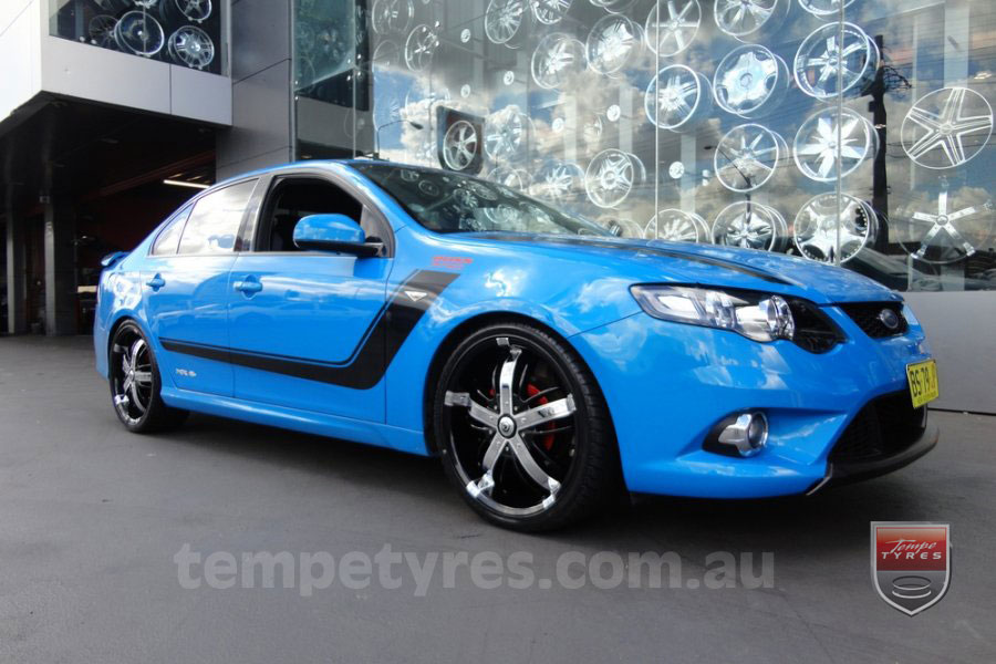20x8.0 Giovinco Fortune16 on FORD XR6