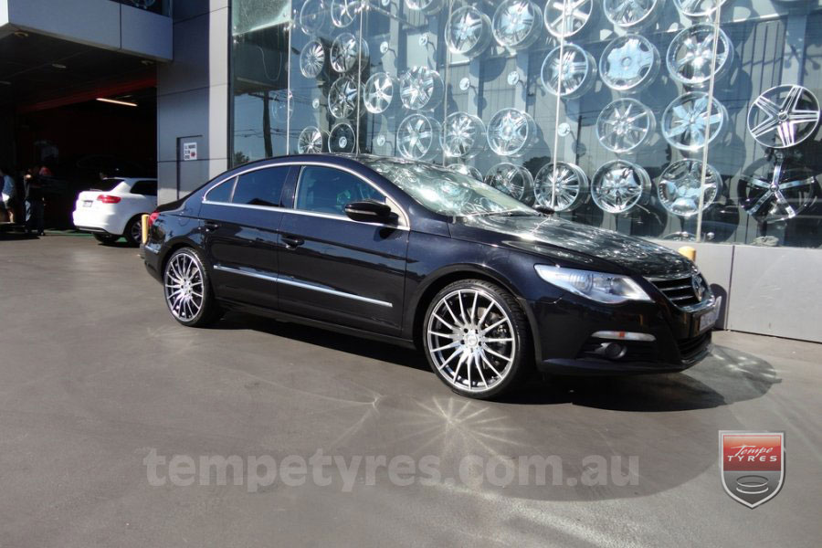 20x8.5 20x9.5 Lenso Conquista 5 CQ5 on VW PASSAT