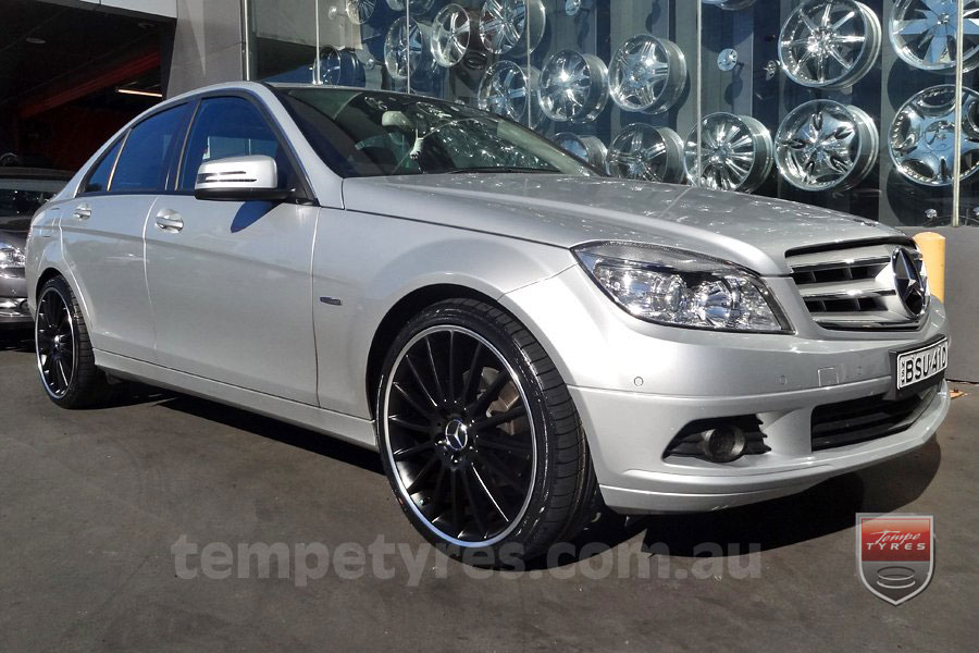 19x8.5 19x9.5 C63 Limited MB on MERCEDES C CLASS