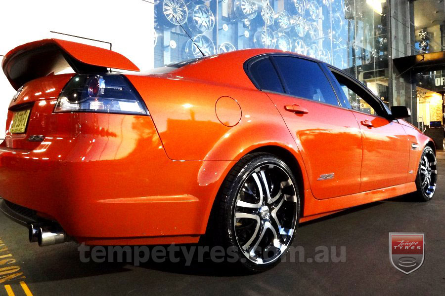 20x8.5 Incubus Paranormal on HOLDEN VE SEDAN