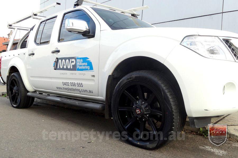 18x9.0 Ballistic Razorback | Ballistic Wheels | Tempe Tyres