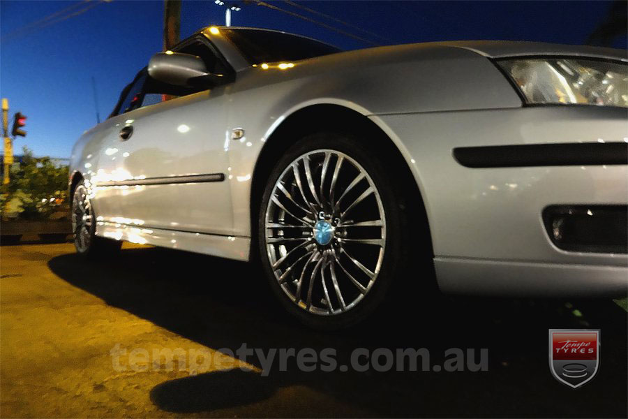 18x8.0 Lenso Como - HB on SAAB 9-3