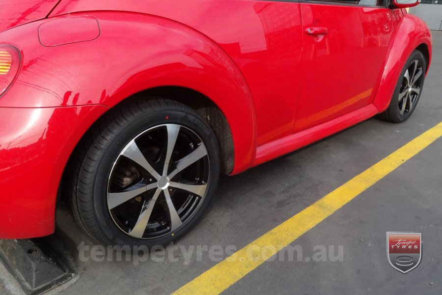 18x7.5 Lenso Elegance on VW BEETLE