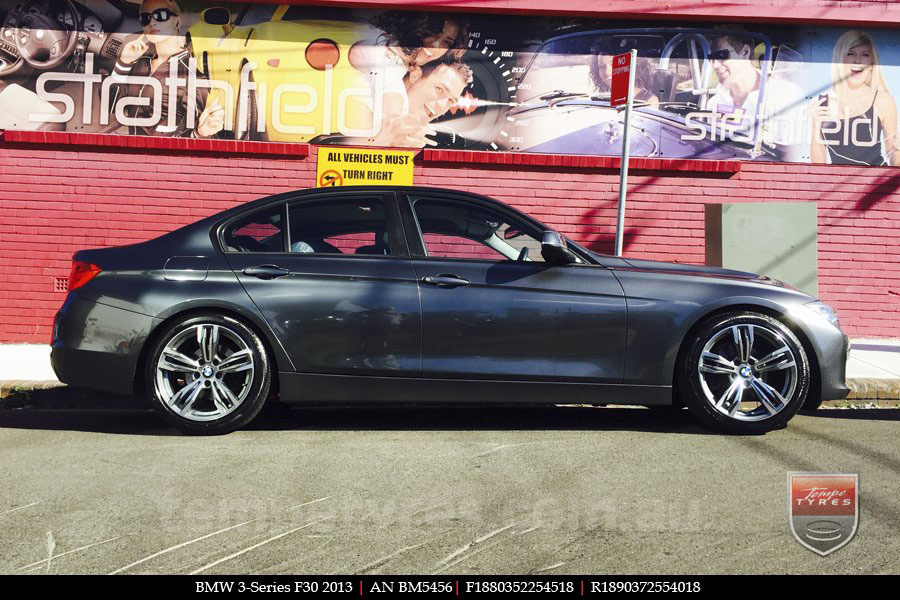 18x8.0 18x9.0 AN Deluxe Performance Alloys on BMW 3 SERIES