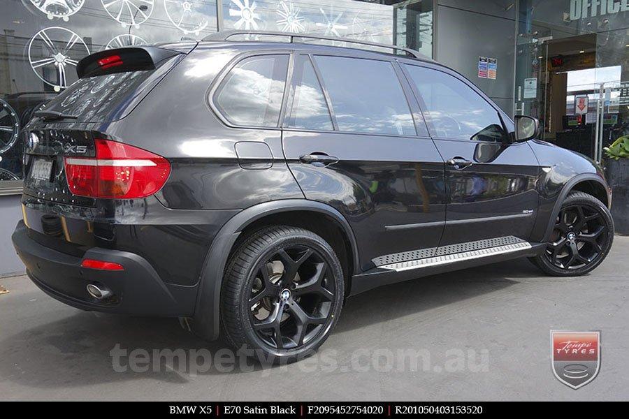 20x9 5 20x10 5 E70 4 8l Black Style By Bm Tempe Tyres