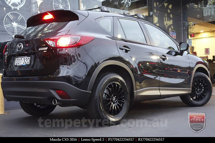 17x7.0 Lenso Speed 2 SP2 on MAZDA CX5