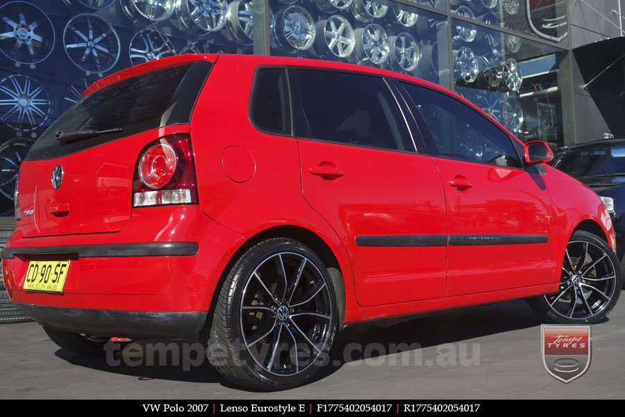 17x7.5 Lenso Eurostyle E ESE on VW POLO