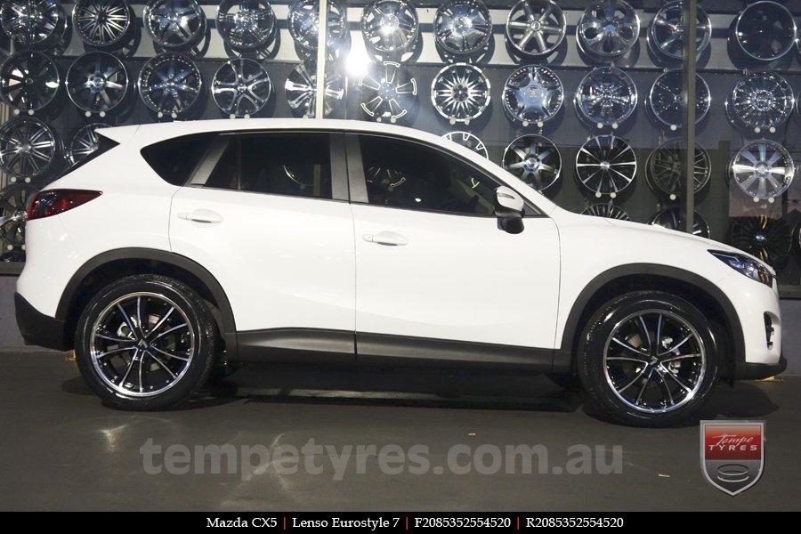 20x8 5 20x9 5 lenso eurostyle 7 es7 lenso wheels tempe tyres. Black Bedroom Furniture Sets. Home Design Ideas