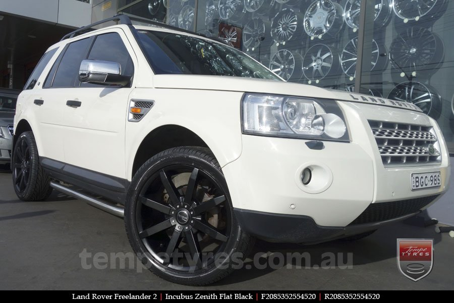 20x8.5 Incubus Zenith - FB on LAND ROVER FREELANDER 2