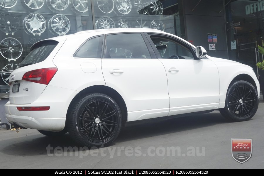 20x8.5 Sothis SC102 FB on AUDI Q5