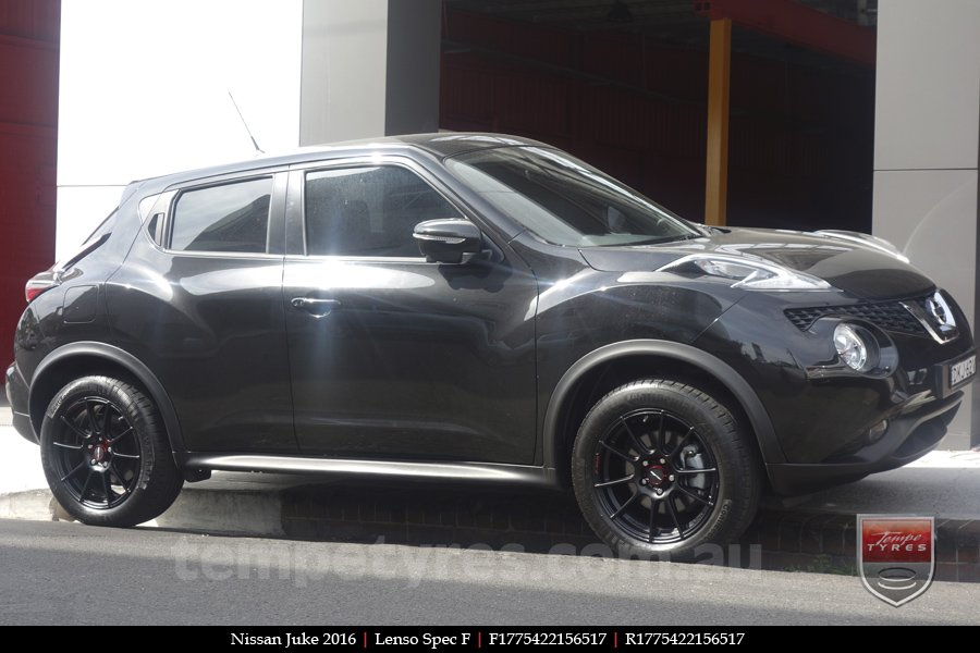 17x7.5 Lenso Spec F MB on NISSAN JUKE