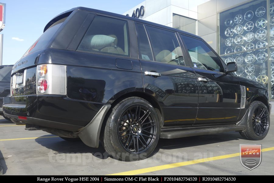 20x8.5 20x10 Simmons OM-C FB on RANGE ROVER VOGUE