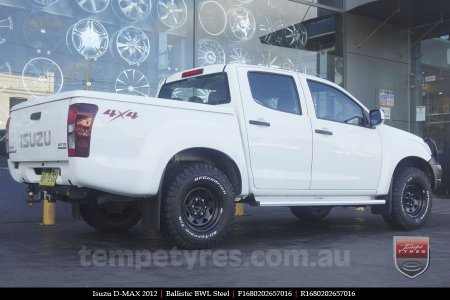 16x8.0 Ballistic BWL Steel on ISUZU D-MAX