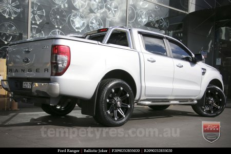 20x9.0 Ballistic Joker FB on FORD RANGER