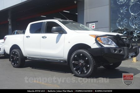 20x9.0 Ballistic Joker FB on MAZDA BT50