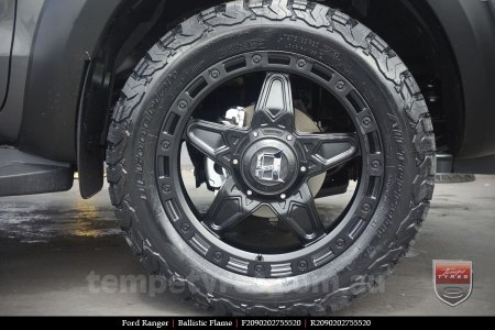 20x9.0 Ballistic Flame on FORD RANGER