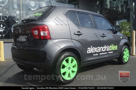 15x6.5 RS Flawless 0450 on SUZUKI IGNIS