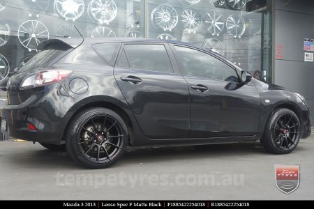 18x8.5 Lenso Spec F MB on MAZDA 3