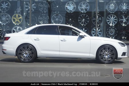 20x8.5 20x10 Simmons OM-C BM on AUDI A4