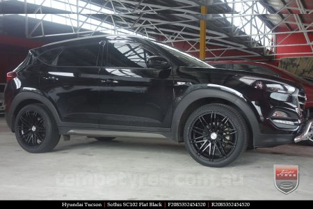 20x8.5 Sothis SC102 FB on HYUNDAI TUCSON