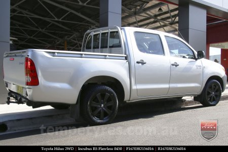 16x7.0 RS Flawless 0450 on TOYOTA HILUX 2WD