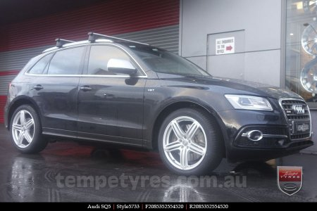 20x9.0 Style5733 on AUDI SQ5
