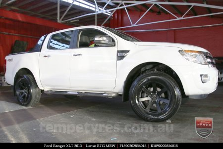 18x9.0 Lenso RTG MBW on FORD RANGER