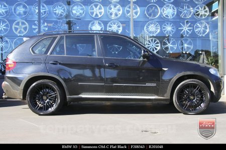 20x8.5 20x10 Simmons OM-C FB on BMW X5