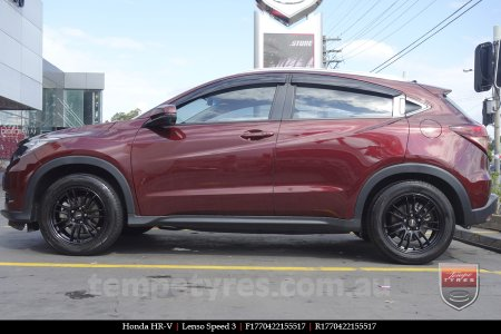 17x7.0 Lenso Speed 3 SP3 on HONDA HRV