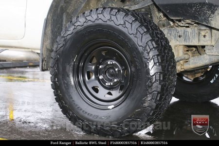 16x8.0 Ballistic BWL Steel on FORD RANGER