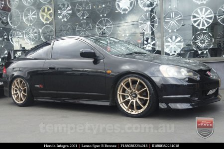 18x8.0 Lenso Spec B MB on HONDA INTEGRA