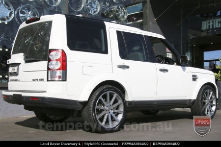 22x9.5 Style5930 Gunmetal on LAND ROVER DISCOVERY 4