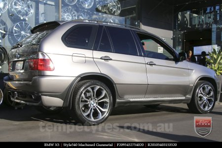 20x9.5 20x10.5 Style540 on BMW X5
