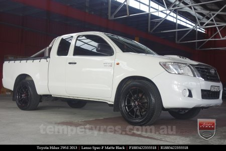 18x8.5 Lenso Spec F MB on TOYOTA HILUX 2WD