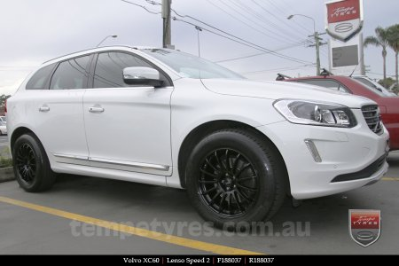 18x8.0 Lenso Speed 2 SP2 on VOLVO XC60
