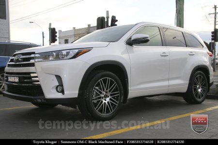 20x8.5 20x10 Simmons OM-C BM on TOYOTA KLUGER