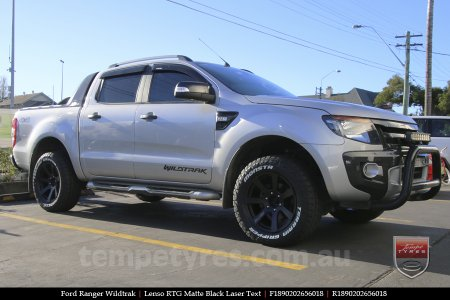 18x9.0 Lenso RTG MBW on FORD RANGER WILDTRAK