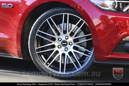 20x8.5 20x10 Simmons OM-C BM on FORD MUSTANG